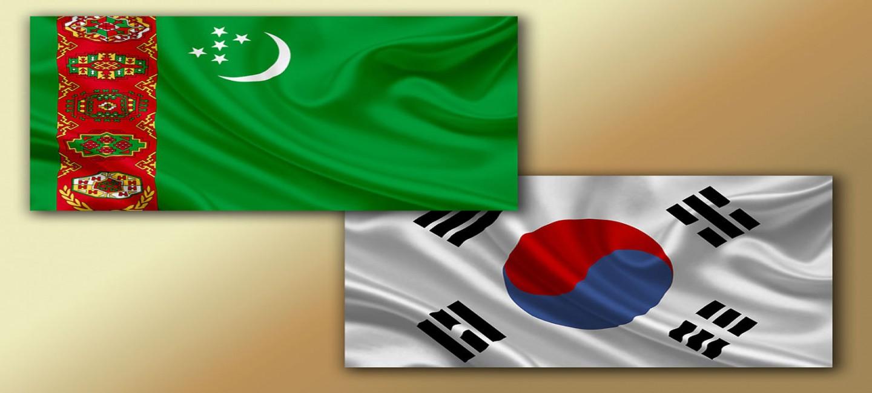 В Дворцовом комплексе «Огузхан» начались туркмено-корейские переговоры в расширенном составе