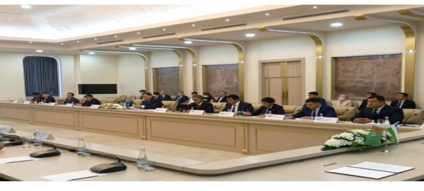 THE FIRST MEETING OF JOINT TURKMEN-UZBEK INTERGOVERNMENTAL COMMISSION ON WATER MANAGEMENT ISSUES HAD BEEN HELD