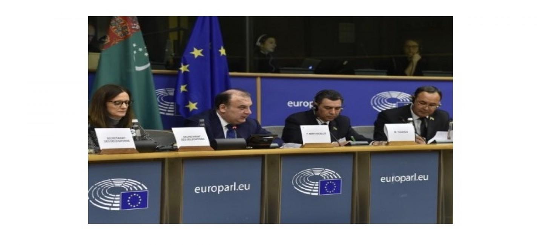 В БРЮССЕЛЕ ПРОВЕДЕНО МЕЖПАРЛАМЕНТСКОЕ ЗАСЕДАНИЕ ТУРКМЕНИСТАН – ЕС
