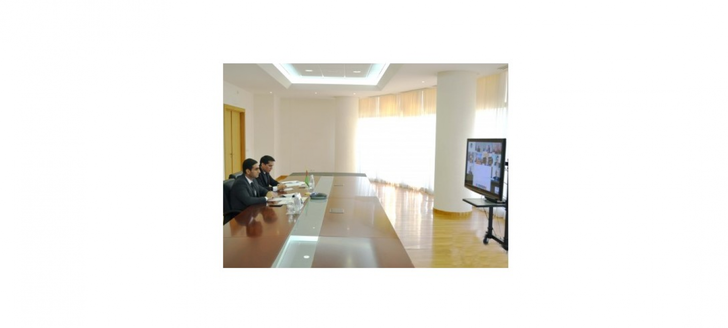ONLINE MEETING OF THE EEAS AND DEPUTY FOREIGN MINISTERS OF CENTRAL ASIA